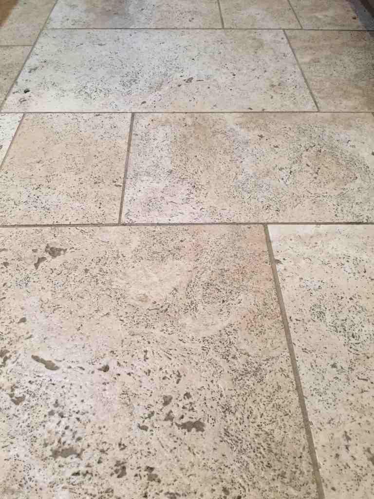 Oreck Orbiter Travertine Tile Floor Cleaning