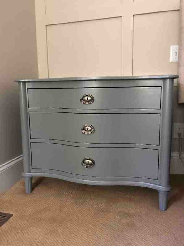 Nightstand Painted in Teak Cups Magnolia Home Paint