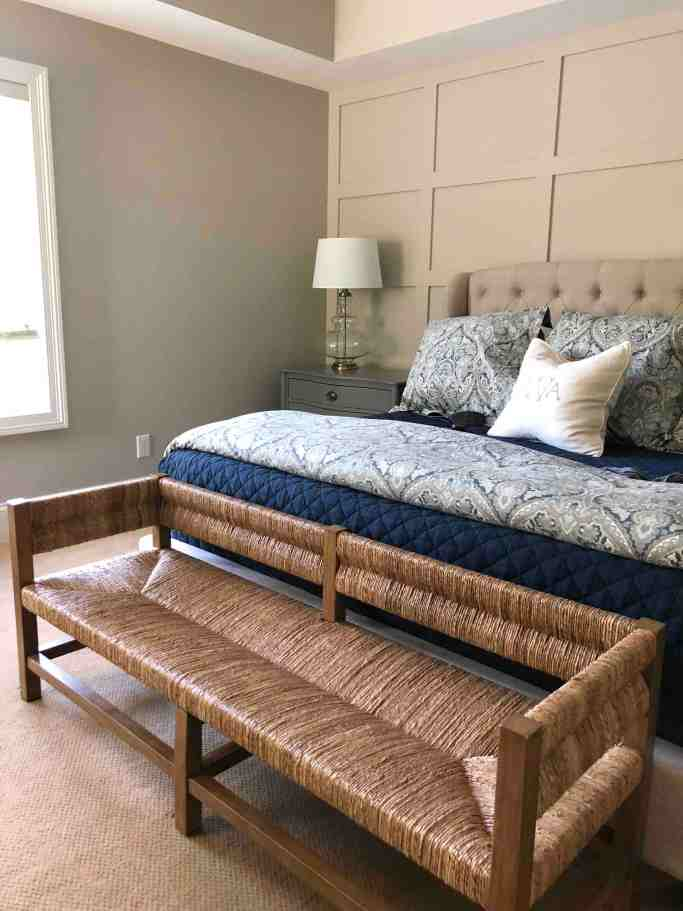 Pottery Barn End of Bed Bench