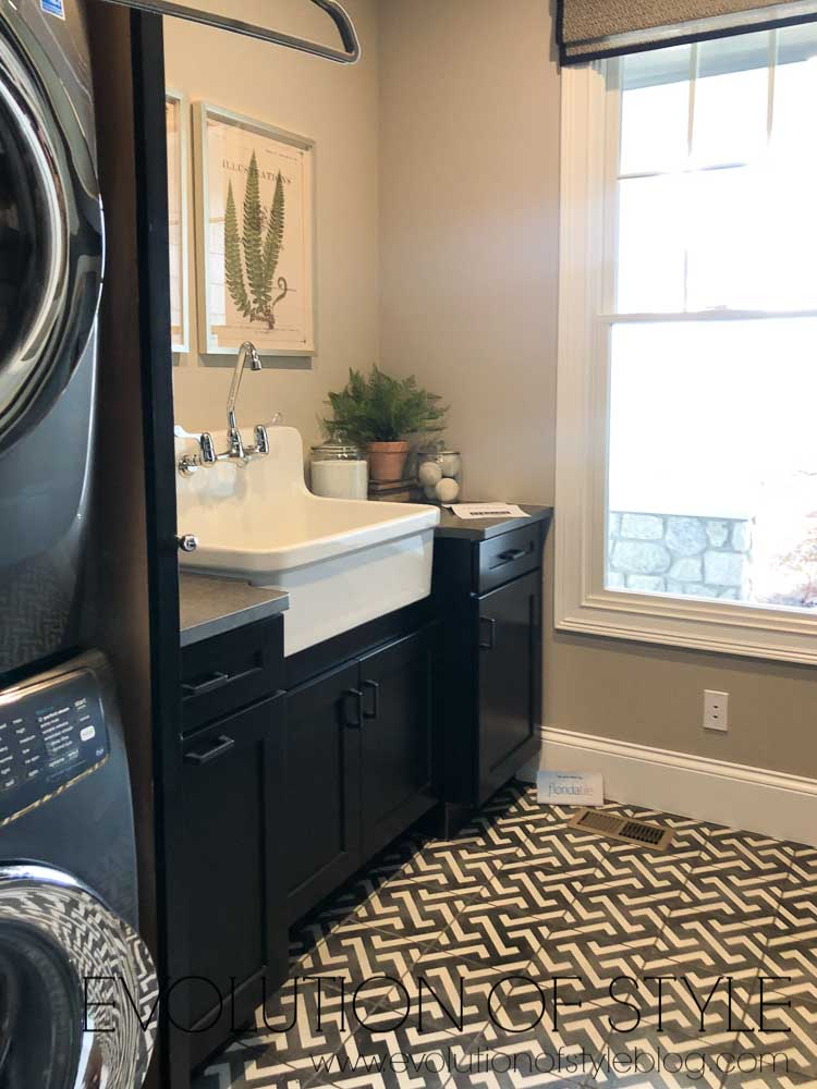 2019 Homearama Day Five - The Nantucket - Laundry Room