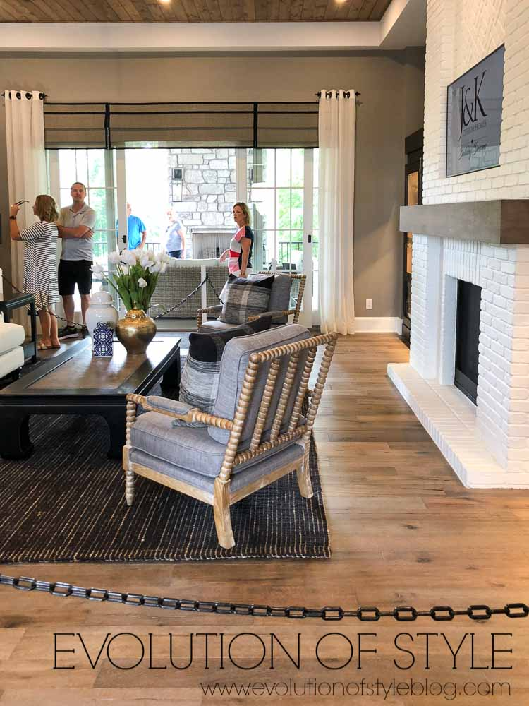 2019 Homearama Day Five - The Nantucket - Great Room