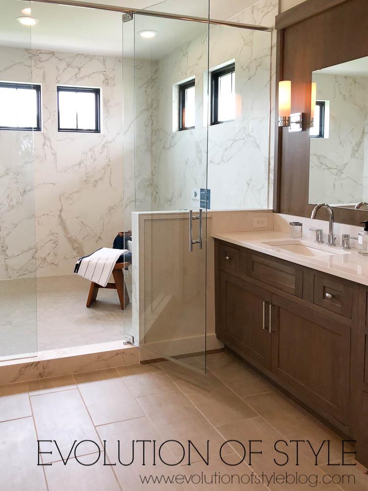 Modern Farmhouse - Master Bathroom