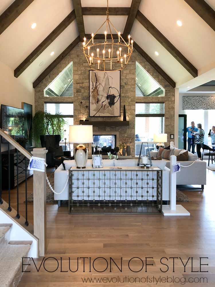 Breckenridge Homearama 2019 - Great Room