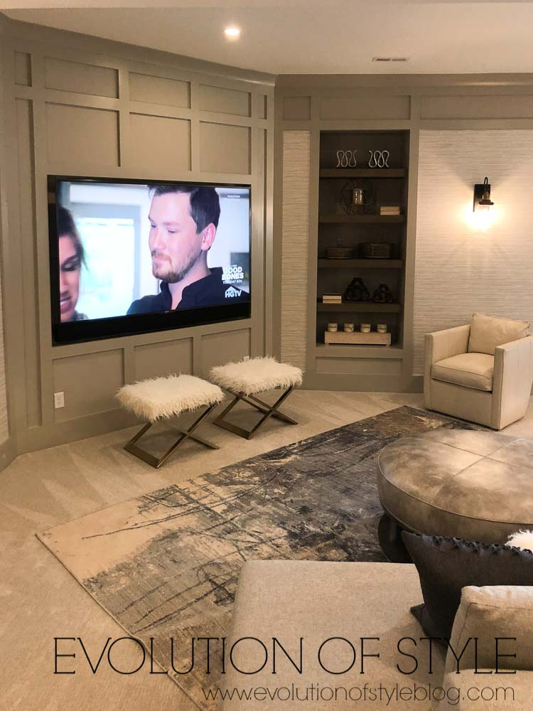 2019 Homearama - The Breckenridge - Media Room