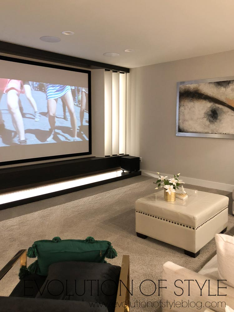 2019 Homearama Day Two - Basement Media Room