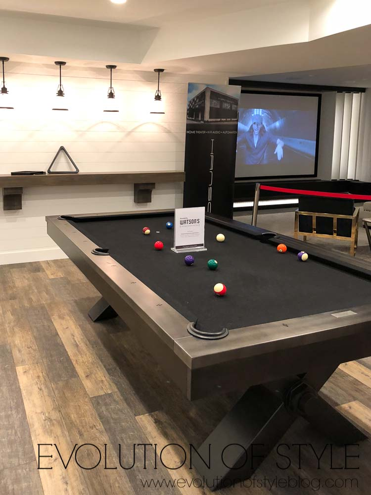 2019 Homearama Day Two - Pool Table