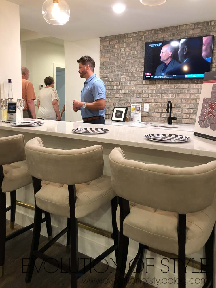 2019 Homearama Day Two - Basement Bar