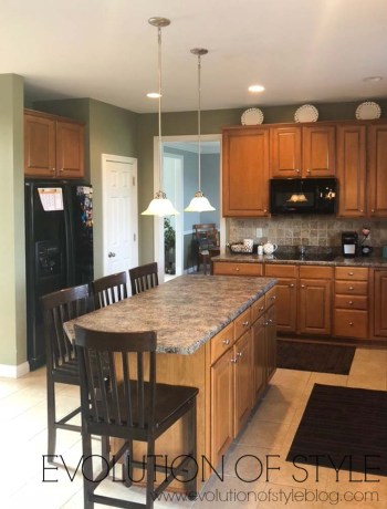 Painted Kitchen Cabinets in Pure White