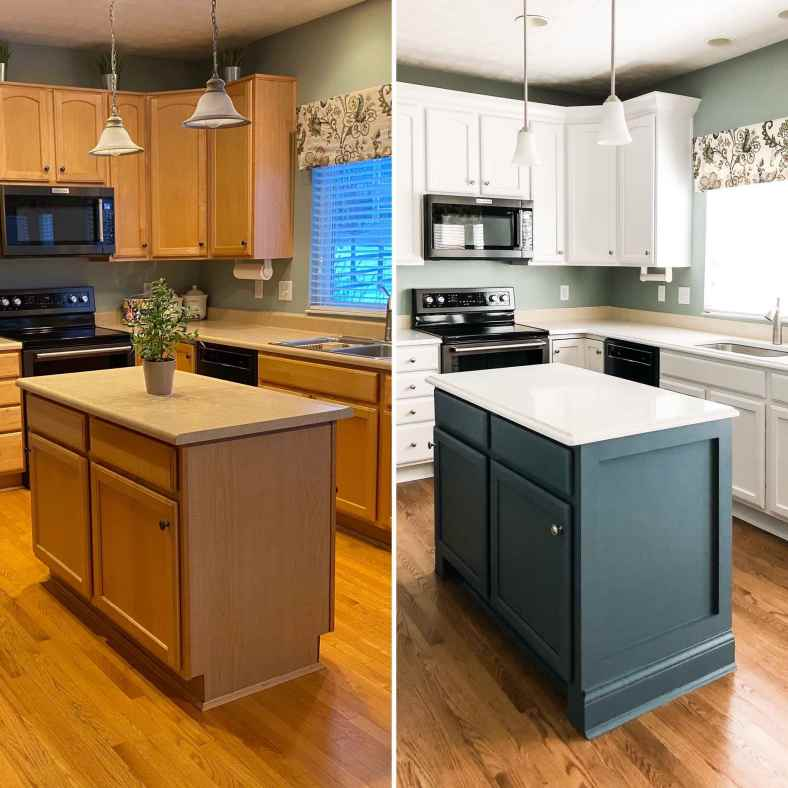 Waterloo and Snowbound Cabinets