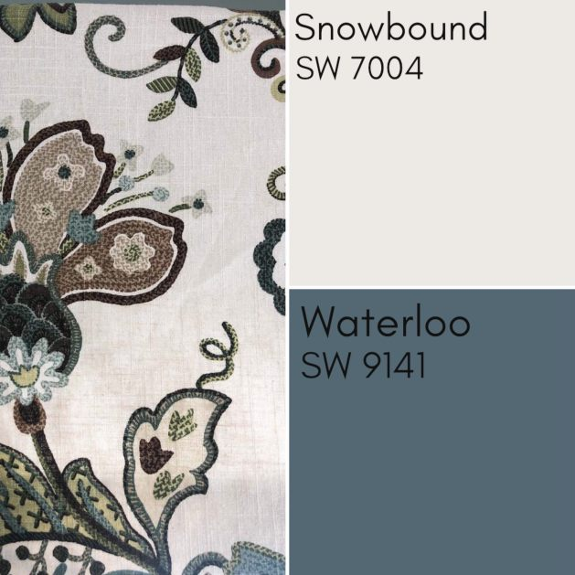 Snowbound and Waterloo Cabinets