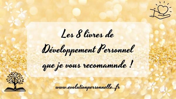 les 8 livres de développement personnel
