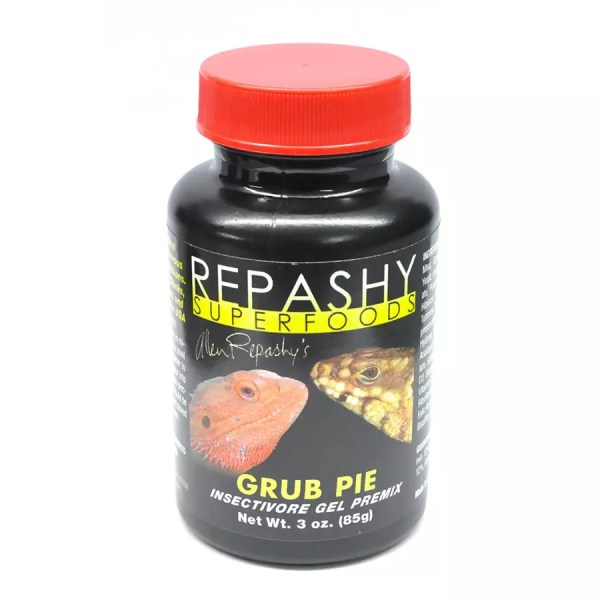 Repashy Superfoods Grub Pie for Reptiles 84g