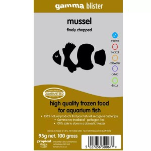 Gamma Blister Chopped Mussel, 95g