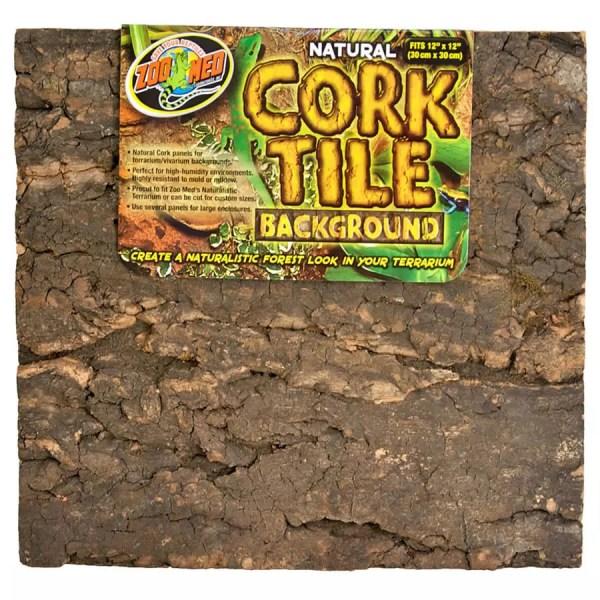 ZooMed Cork Tile Background 30x30cm