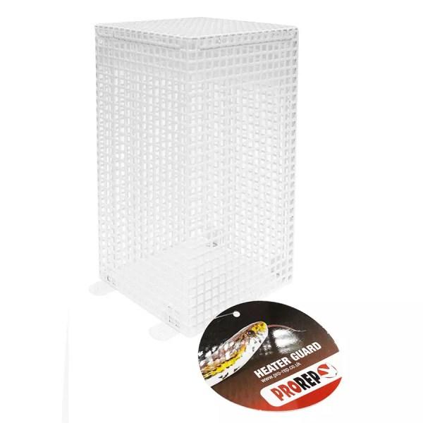 ProRep Ceramic Heater Guard, White. HCG057