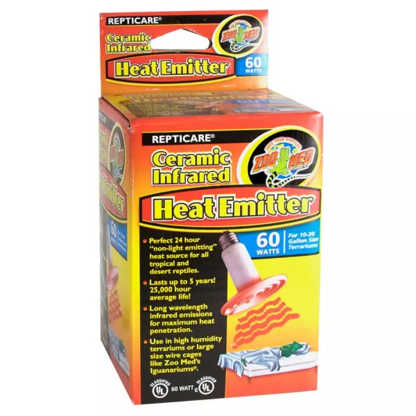 ZooMed Ceramic Heat Emitter 60W