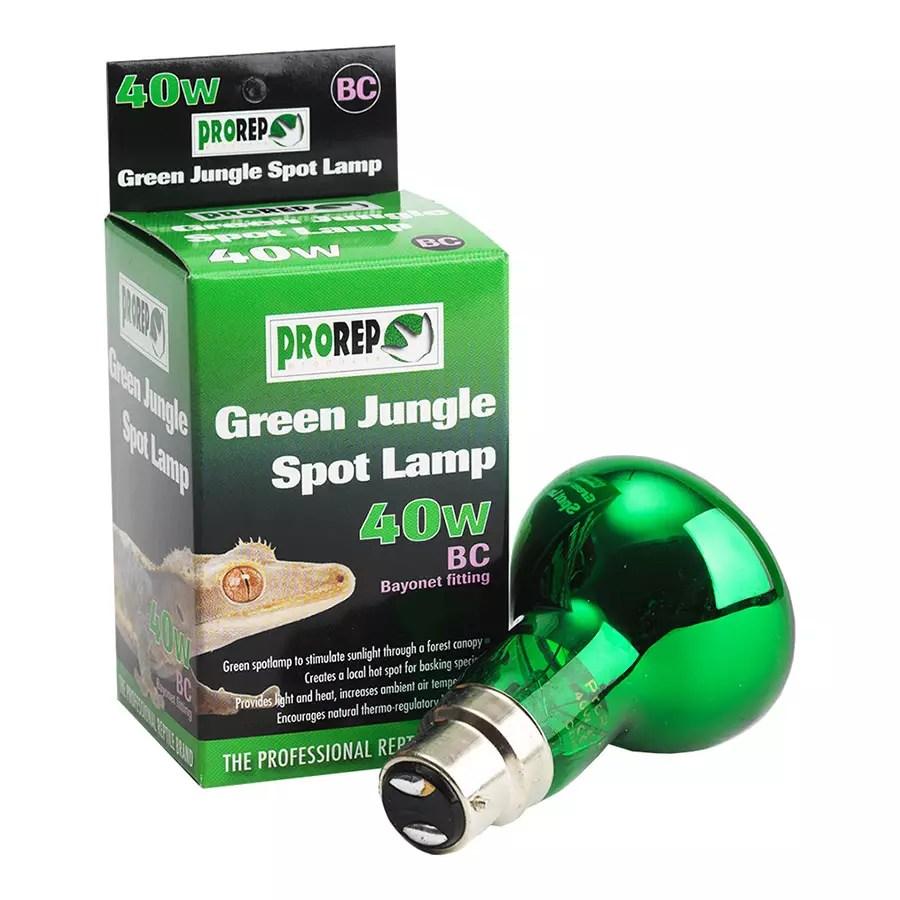 ProRep Green Jungle Spotlamp 40W BC