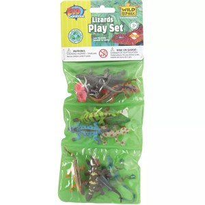Wild Republic Plastic Toys Playset: Lizards (12)