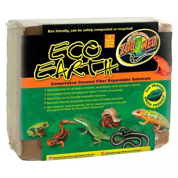 ZooMed Eco Earth 3-Pack