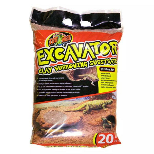 ZooMed Excavator Clay Substrate, 9Kg