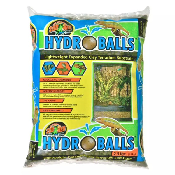 ZooMed HydroBalls Clay Substr. 1.13Kg, VC-10