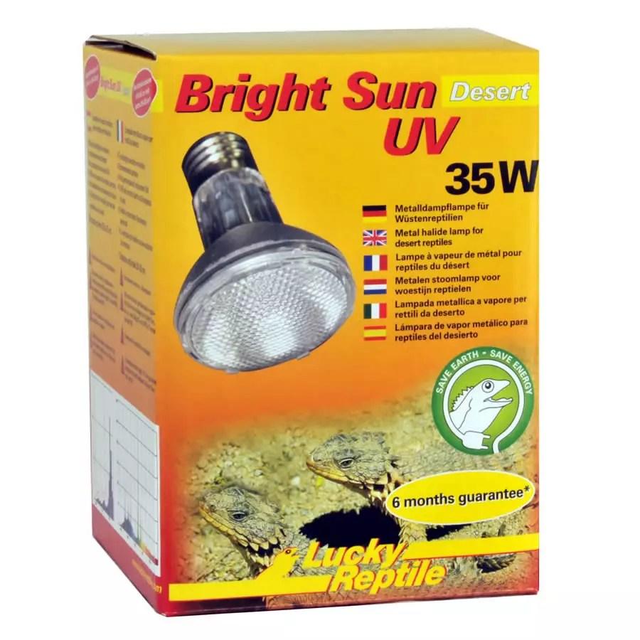 Lucky Reptile Bright Sun UV Desert 35W