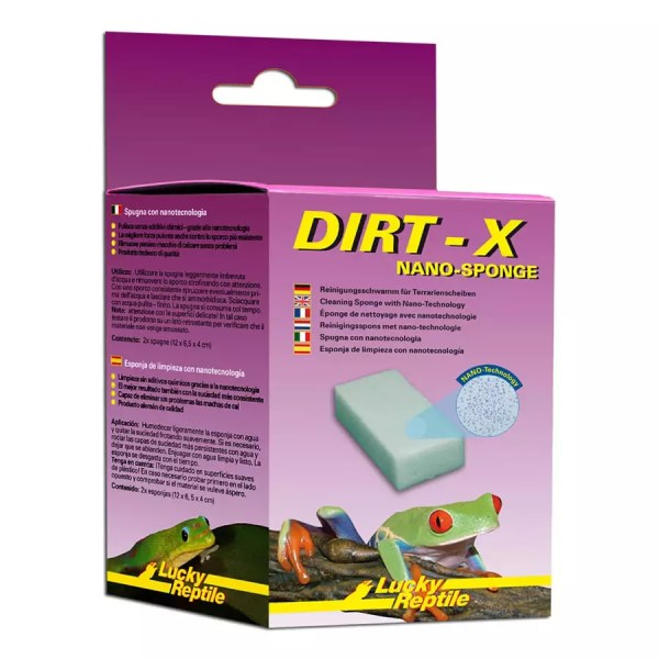 LR Dirt-X Nano-sponge (2-pack), DX-1