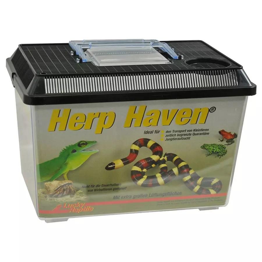 Lucky Reptile Plastic Terrarium medium