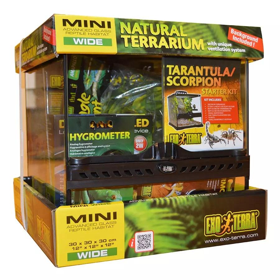 Exo Terra Tarantula/Scorpion Kit 30x30x30cm