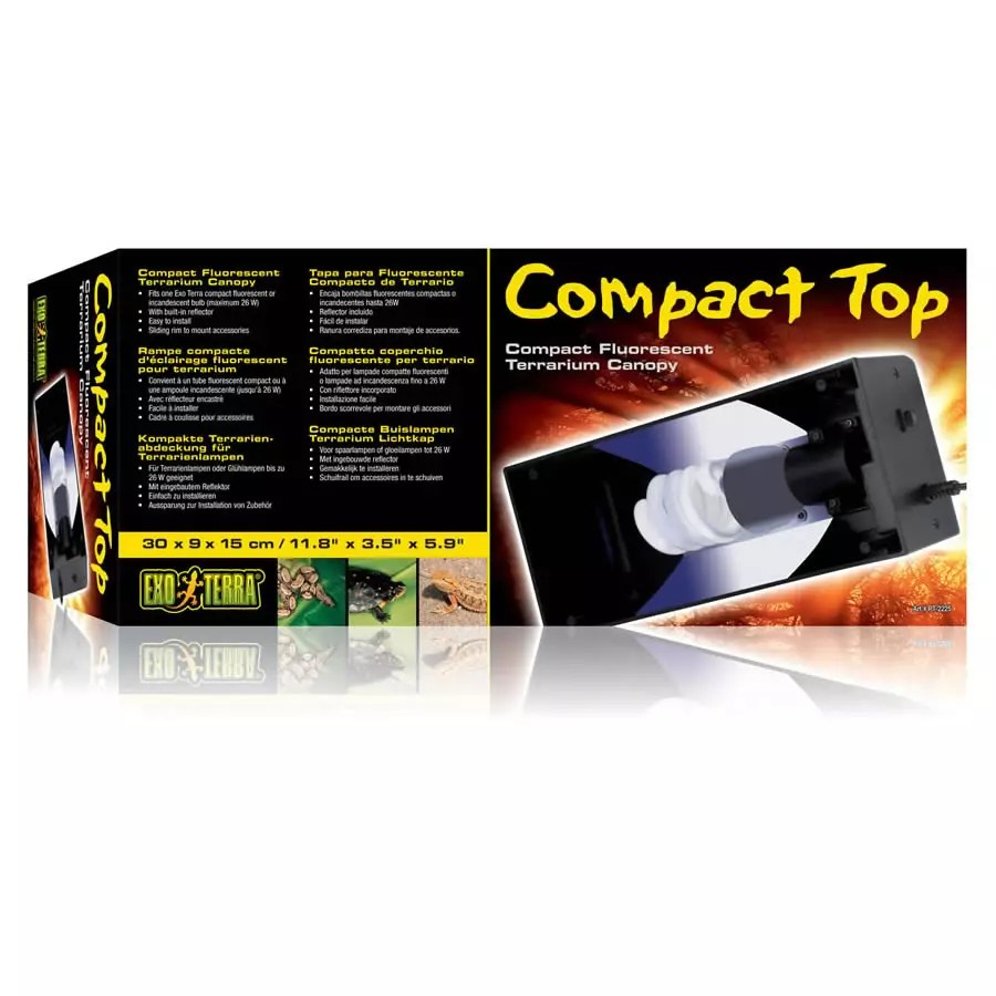 Exo Terra Compact Top Canopy 30cm