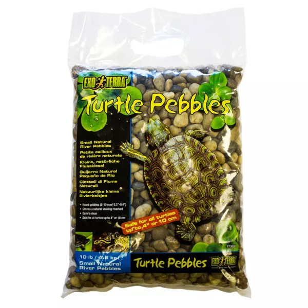 Exo Terra Turtle Pebbles Sm 8-10mm 4.5Kg