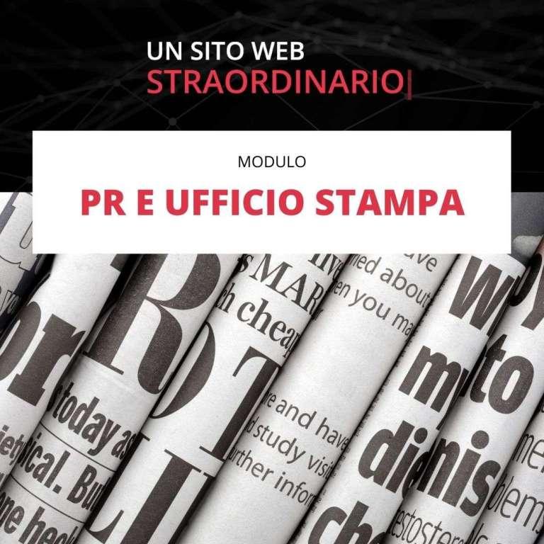 PR UFFICIO STAMPA