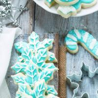 Cut-Out Sugar Cookies that Don't Spread!