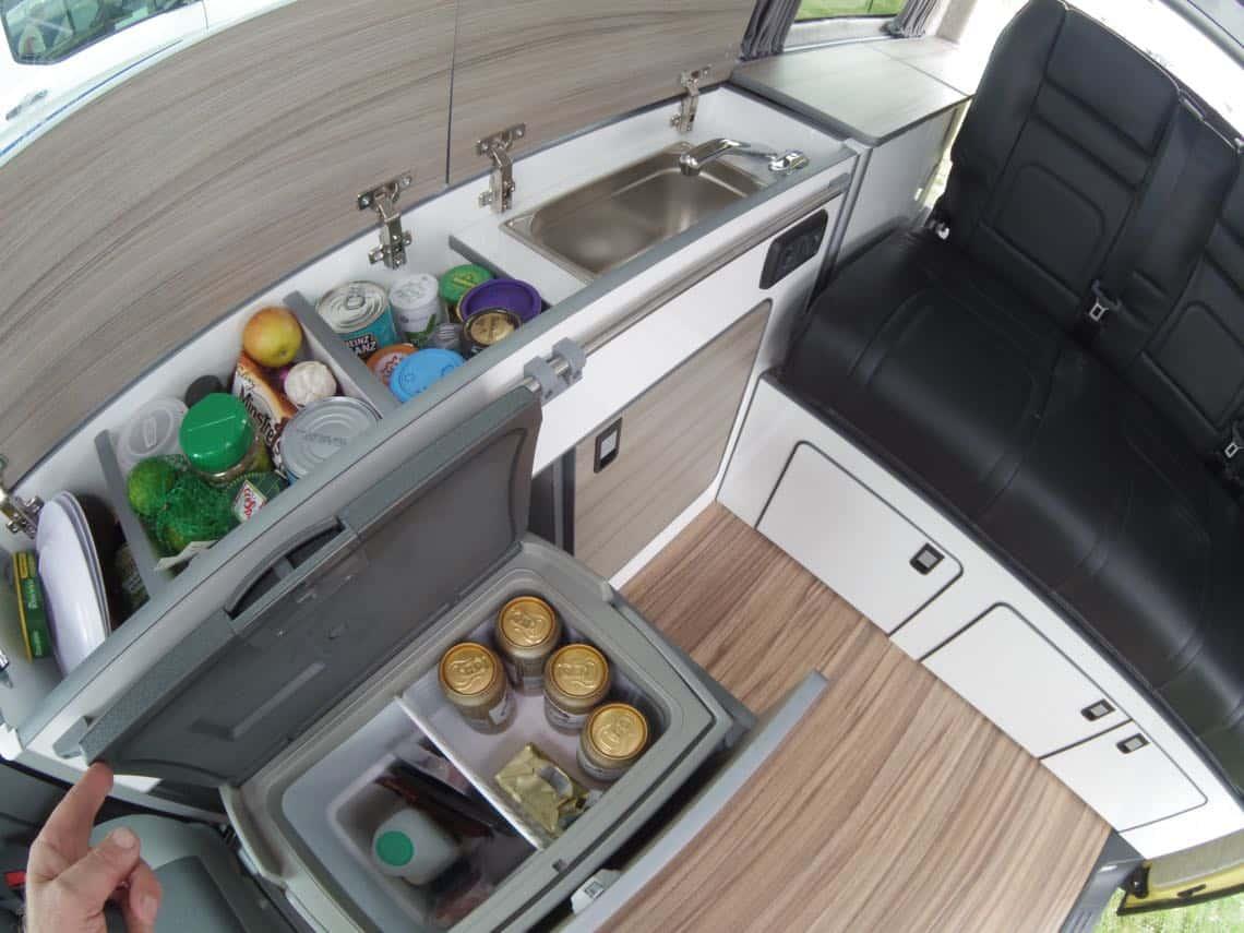 Furniture Kit 1300 C Slim Front Low Back RIB Seat VW