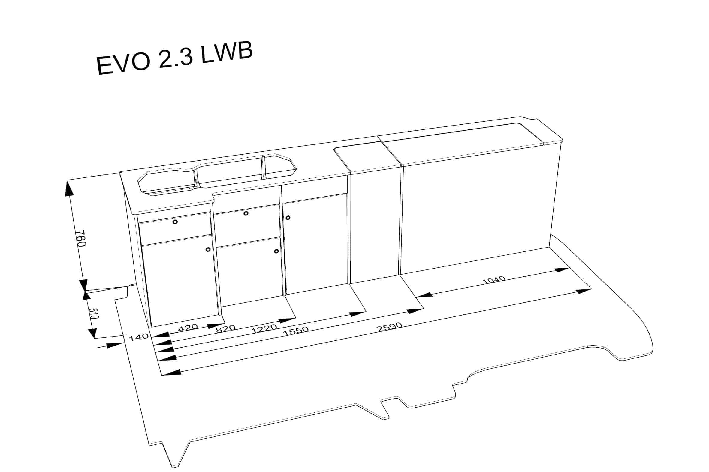 Evo 2 3 Vw Lwb Van