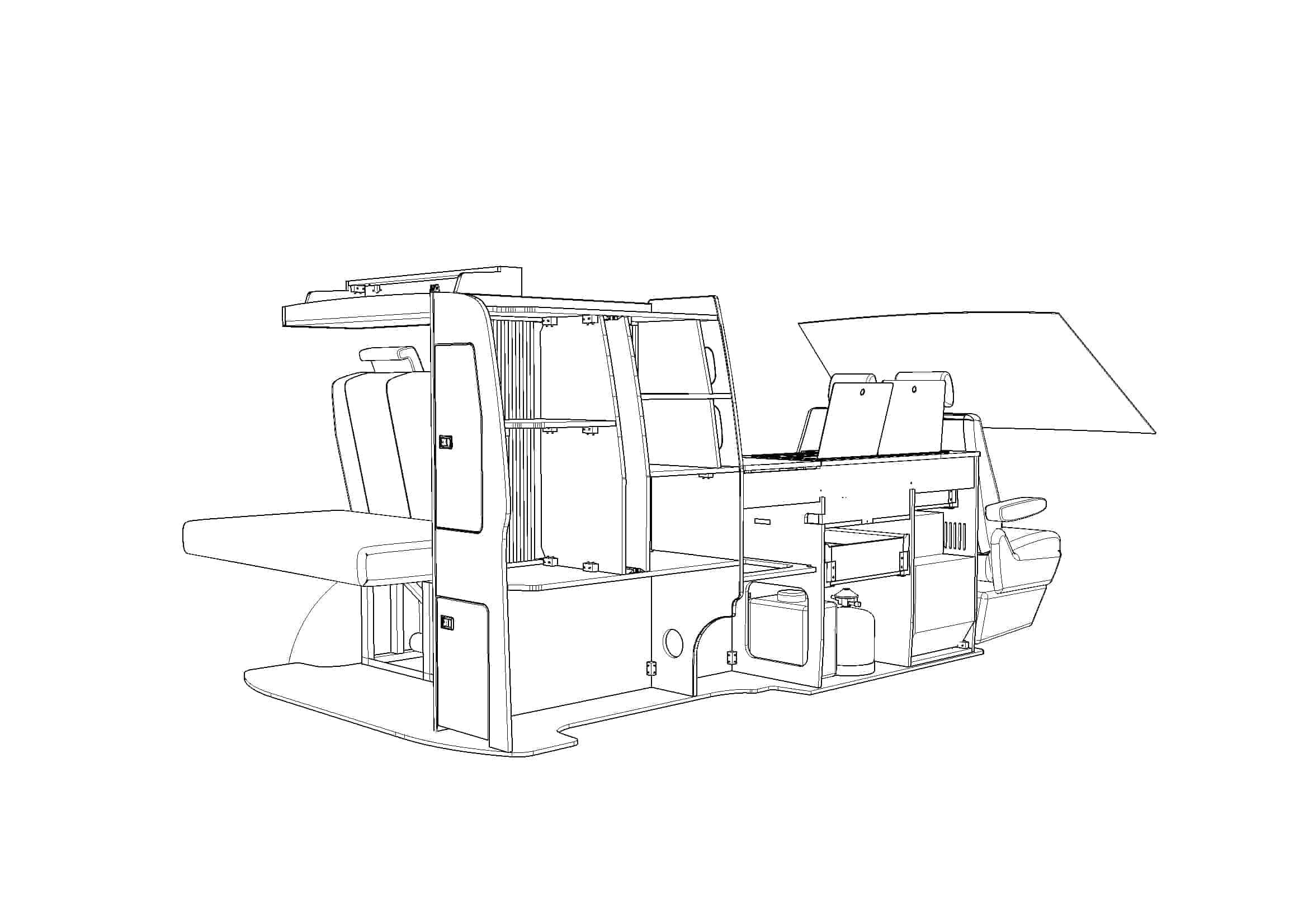 Evo 2 4 Fixed Rib B Vw Swb Van
