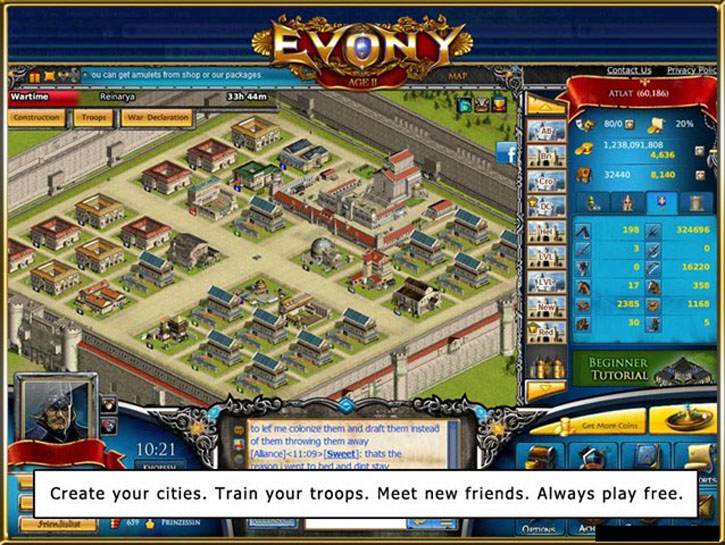 Evony Age Ii Play Now My Lord
