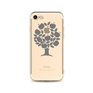 Coque en silicone pour iPhone 6 plus /iphone 6s plus 5.5 KSHOP Beau Téléphone Case transparent TPU Ultra-mince légère Case Cover Antichocs résistant aux Rayures avec L'impression du Motif- Pommier