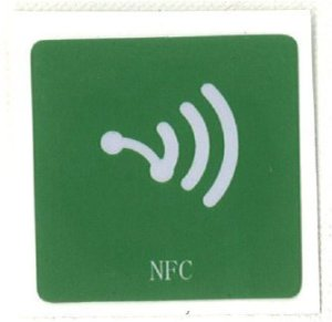 1x NFC Stickers Green ntag203[de8]
