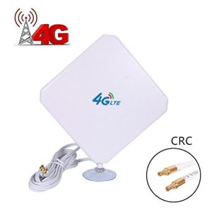 Antenne 4G LTE 35dbi CRC9,Connecteur Booster Amplificateur De Signal Equipment USB Modem Pour HuaWei EC3372 E5377 E160 E1820 E367 K4505 E3131 E353 etc