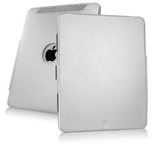 BoxWave Coque ultra robuste, AluArmor Veste Coque en aluminium pour une Protection Durable et housses pour étuis iPad (Argent métallisé)