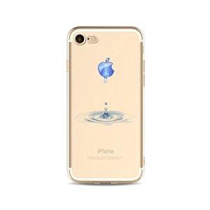 Coque en silicone pour iPhone 6 /iphone 6s 4.7 KSHOP Beau Téléphone Case transparent TPU Ultra-mince légère Case Cover Antichocs résistant aux Rayures avec L'impression du Motif- Gouttes D'eau