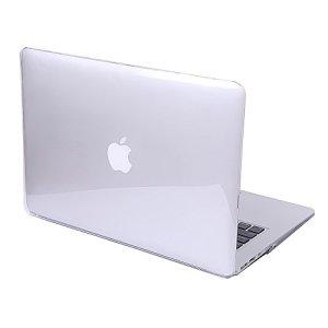 Coque MacBook Air 13.3» – Coque en Crystal Plastique étui Housse de Protection pour Apple MacBook Air 13.3» Pouces (Modèle A1466 / A1369) Hard Case Cover Shell (Transparent)