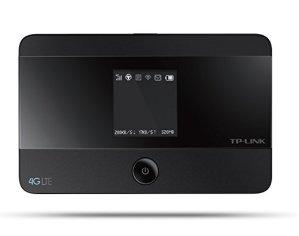 TP-Link Routeur Mobile 4G LTE-Advanced Bi-Bande: Débit 4G de 150 Mbps, Débit Wi-Fi de 300 Mbps en 2.4 GHz et 5 GHz, Batterie Rechargeable Longue Durée 2550 mAh, Antenne Interne, 1 Port Micro USB, 1 Emplacement Carte SIM (M7350)