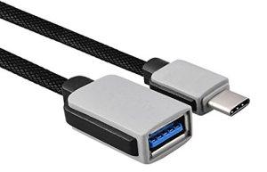 Adaptateur OTG type C USB3.0lucklystar® Câble de données Fourrure type C de téléphone mobile usb 3.0pour Lenovo, LG, Toshiba, Sony, HP, Asus, Acer et autres téléphones portables, tablette PC, ordinateur portable de équipement