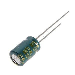 Doradus 470UF de composante 105c radiales des condensateurs électrolytiques 8×11 les mm