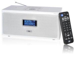 Dnt IP Square Radio Internet Blanc
