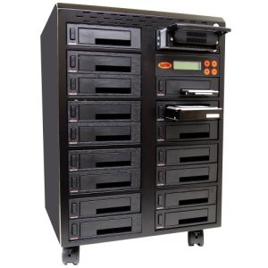 Systor 1 à 16 SATA / IDE Combo disque dur (HDD / SSD) Duplicator / Sanitizer