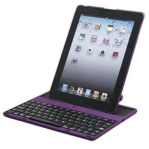 FXOESR DGZ pour Apple iPad 234 bluetooth clavier, il peut être détaché et angle réglable de 360 degrés clavier bluetooth , red