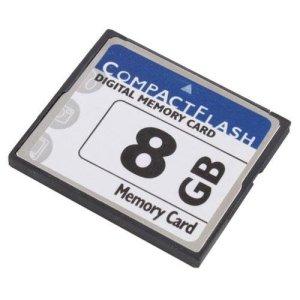 Calistouk High Speed 8Go Compact Flash CompactFlash CF carte mémoire 8Go pour appareil photo